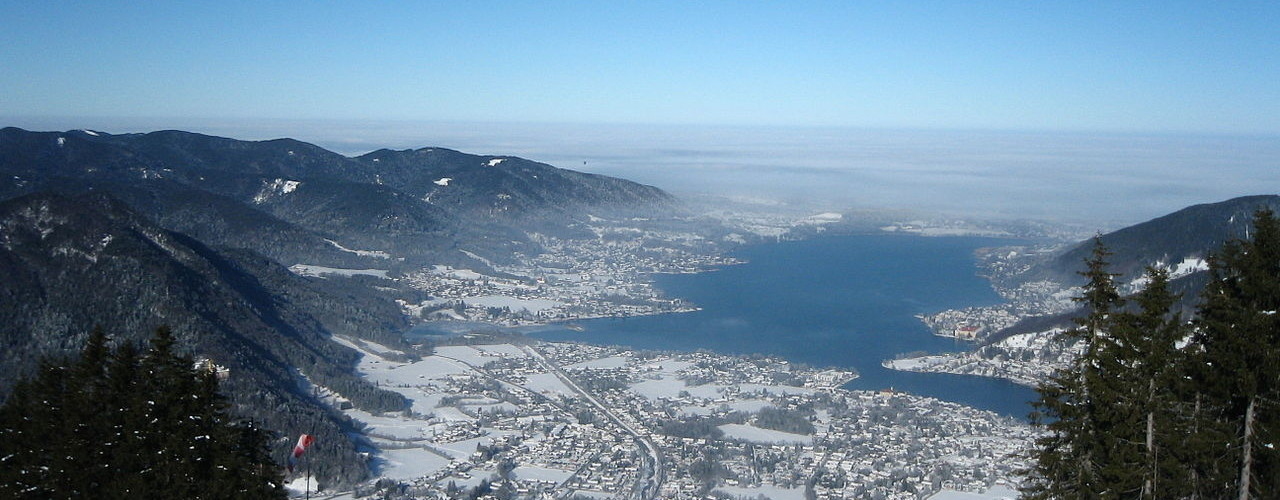 Lake Tegernsee in Winter